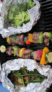 easy grilling while camping!